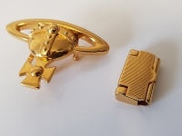 24ct Gold Plated Belt Buckle