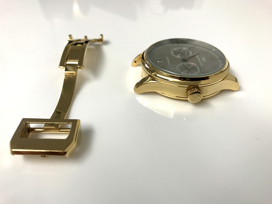 Watch Gold Plated In 24ct Gold