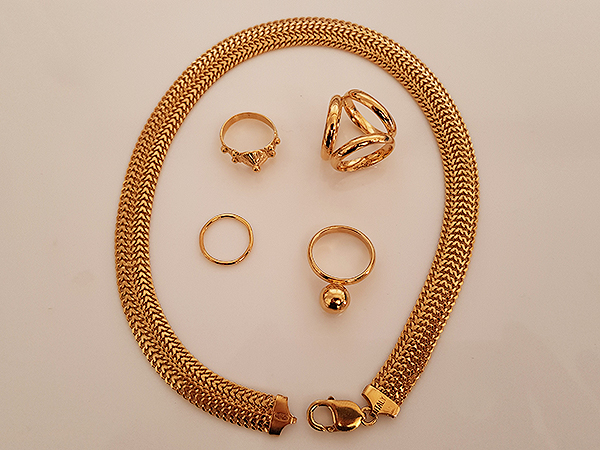 24ct Gold Jewellery