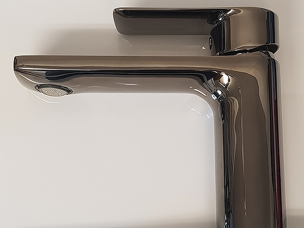 Smokey Nickel Plated Tap