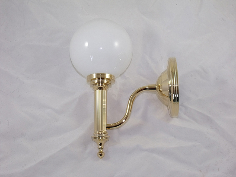 Antique Gold Light Fitting